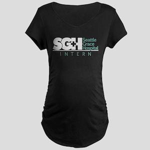 Grey's SGH Intern Maternity Dark T-Shirt