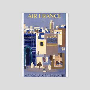Maroc Algerie;travel Vintage Poster 5'x7'a