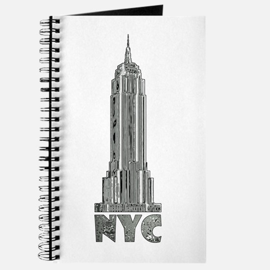 Empire State Building Chrome Journal