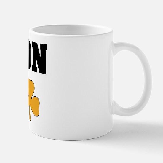 Boston Irish Shamrocks Mug