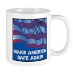 Make America Safe Again Mugs