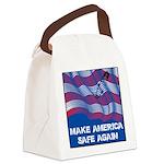 Make America Safe Again Canvas Lunch Bag