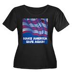 Make America Safe Again Plus Size T-Shirt