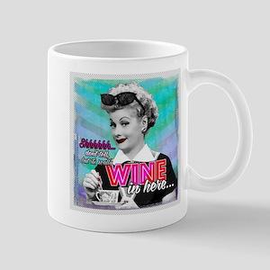 I Love Lucy: Wine Mug