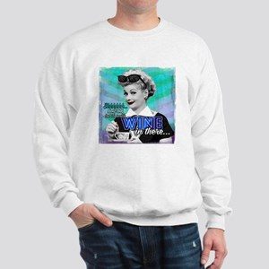 I Love Lucy: Wine Sweatshirt