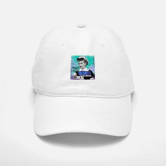 I Love Lucy: Wine Baseball Baseball Cap