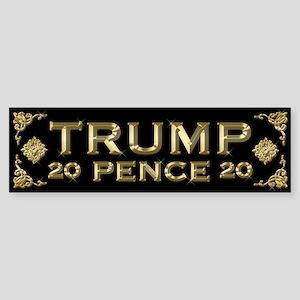Trump / Pence 2020 Sticker (Bumper)