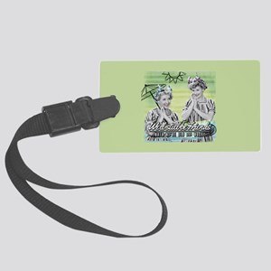 I Love Lucy: Old & Wacky Large Luggage Tag