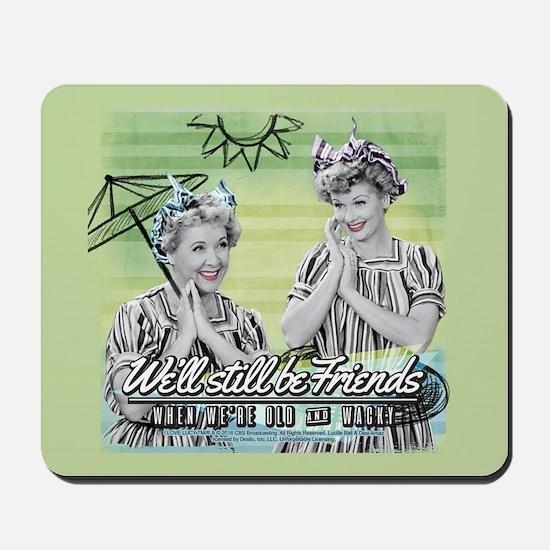 I Love Lucy: Old & Wacky Mousepad