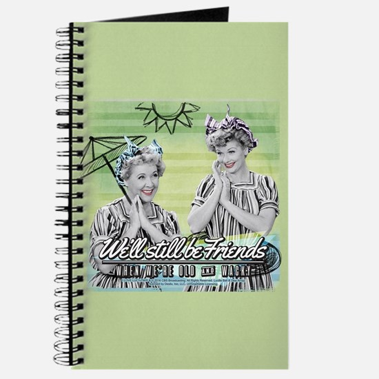 I Love Lucy: Old & Wacky Journal