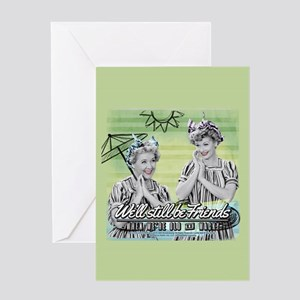 I Love Lucy: Old & Wacky Greeting Card