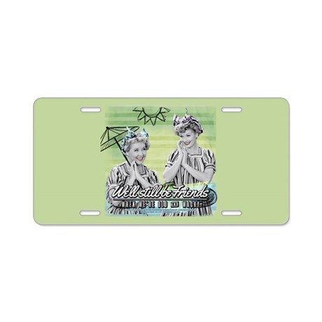 I Love Lucy Old u0026 Wacky Aluminum License Plate  sc 1 st  CafePress & Lucy Ricardo Aluminum License Plates - CafePress