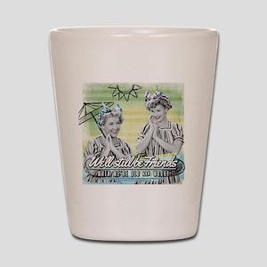 I Love Lucy: Old & Wacky Shot Glass