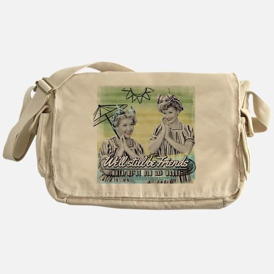 I Love Lucy: Old & Wacky Messenger Bag
