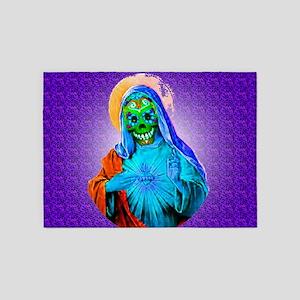 Dead Mary 5'x7'Area Rug
