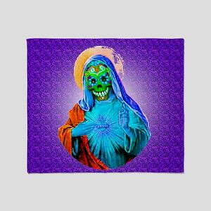 Dead Mary Throw Blanket