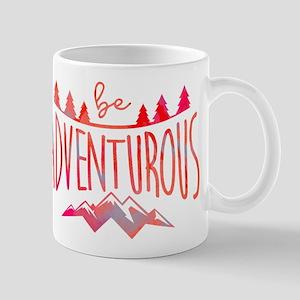 Be Adventurous Red Mug