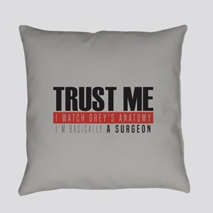 Grey's Trust Me Everyday Pillow