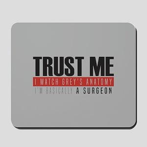 Grey's Trust Me Mousepad