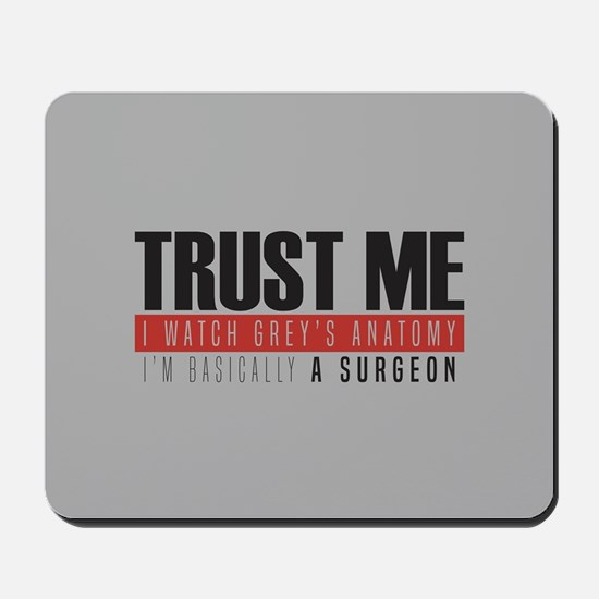 Grey's Trust Me Mousepad