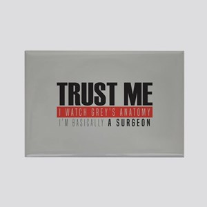 Grey's Trust Me Rectangle Magnet