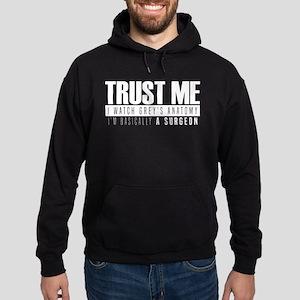 Grey's Trust Me Hoodie (dark)