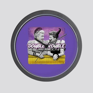 I Love Lucy: Double Trouble Wall Clock