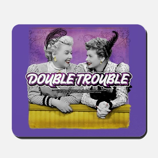 I Love Lucy: Double Trouble Mousepad