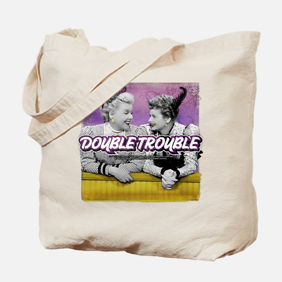 I Love Lucy: Double Trouble Tote Bag