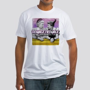 I Love Lucy: Double Trouble Fitted T-Shirt