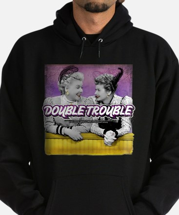 I Love Lucy: Double Trouble Hoodie (dark)