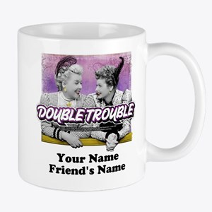 Double Trouble Personalized Mug