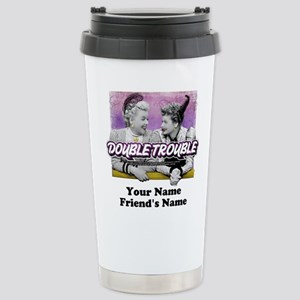 Double Trouble Personal Stainless Steel Travel Mug