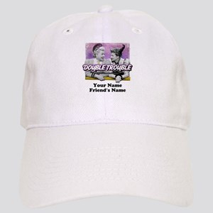 Double Trouble Personalized Cap