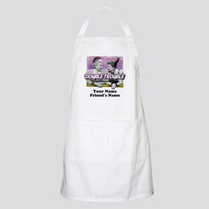 Double Trouble Personalized Apron