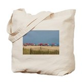 Cape may day at the beach Canvas Tote Bag
