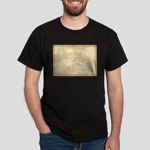 Alaska vintage map T-Shirt