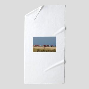 Cape May, NJ Beach Umbrellas Beach Towel