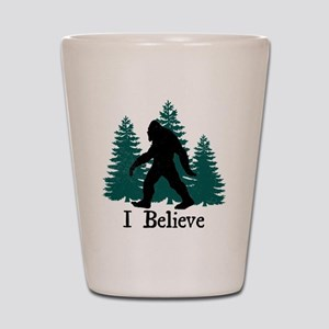 I Believe Shot Glass