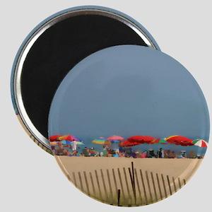 Cape May, NJ Beach Umbrellas Magnets