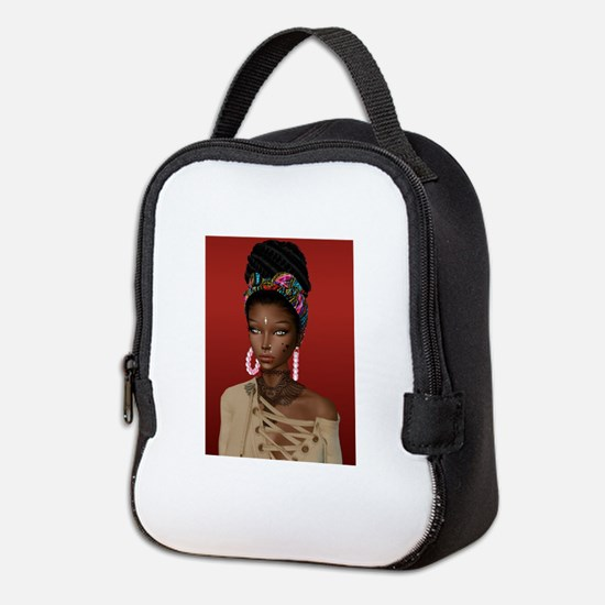 Melanin Poppin' Neoprene Lunch Bag