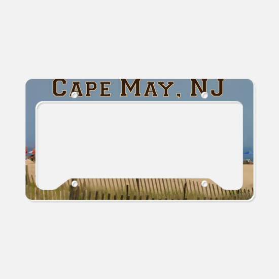 Cute Cape may License Plate Holder