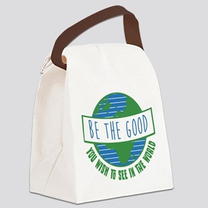 Be the Good Canvas Lunch Bag