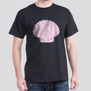 Scallop Seashell in shades of Pink T-Shirt