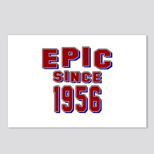 Epic Since 1956 Birthday Postcards (Package of 8)