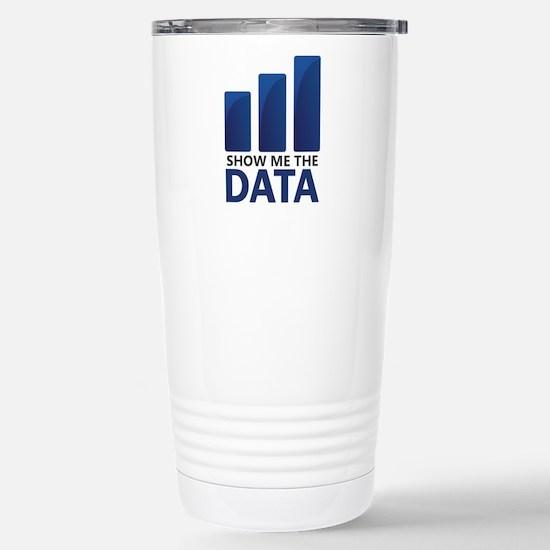 Show Me the Data Travel Mug