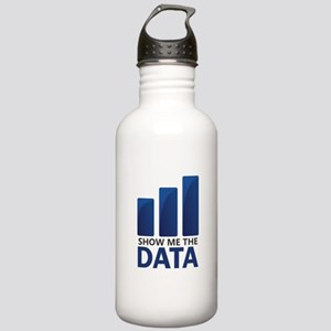 Show Me the Data Water Bottle