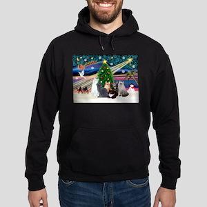 Xmas Magic / Six Cat Sweatshirt