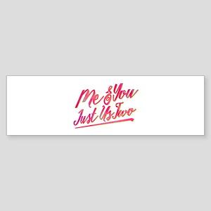 SATC Me & You Bumper Sticker