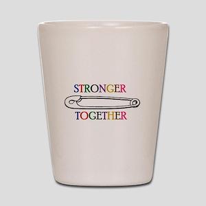 Stronger Together Shot Glass
